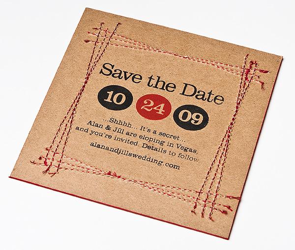 Top originele trouwkaart | Een Fromfraai Trouwblog #DL84